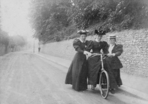 Mary, Eleanor and Emily Gumbrell