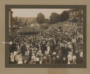 Opening of War Memorial 17 July 1919