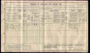 Owen Clark 1911 Census © Ancestry.co.uk