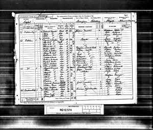 Percy Croucher 1891 census © Ancestry.co.uk