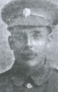 Percy Weller in Uniform
