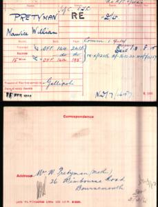 Medal Roll © Ancestry.co.uk