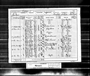 Robert Dodman 1891 Census © Ancestry.co.uk