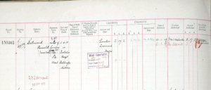 Frederick Salmond's Army Register