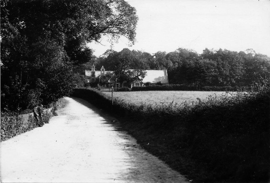 St Paul's School, from St Paul's Road West. 1890's
