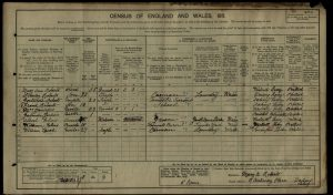 Stanley James Roberts 1911 Census © findmypast.co.uk