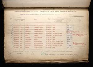 Thomas Cecil Rose 1914 Star Award Roll © ancestry.co.uk