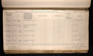 Thomas Cecil Rose British War Medal and Victory Medal Award Roll © ancestry.co.uk