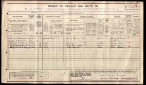 Thomas Harrison 1911 Census © Ancestry.co.uk
