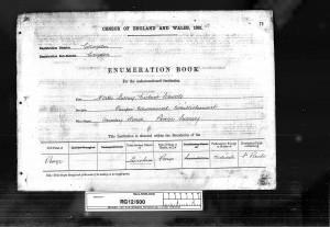 Thomas Steadman 1891 Census ©Ancestry.co.uk
