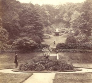 View from Deepdene Gardens 1870 © Dorking Museum