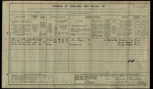 William Campbell 1911 Census © findmypast.co.uk