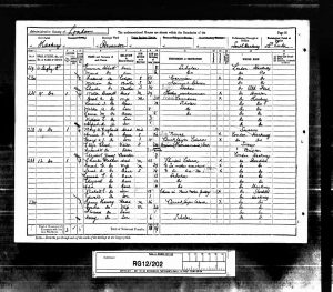 William Edward Drewett 1891 Census © Ancestry.co.uk
