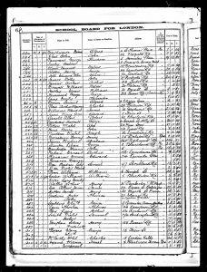 William Edward Drewett Gayhurst Road School 1894 Admissions Register © Ancestry.co.uk