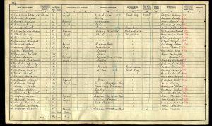 William George Lucas 1911 Census © ancestry.co.uk