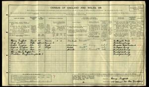 William Henry Ruffell 1911 Census © Ancestry.co.uk