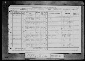 William Kippin 1881 Census © findmypast.co.uk