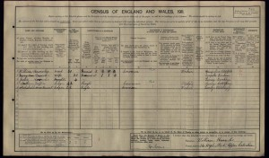 William Knowles 1911 Census © findmypast.co.uk