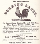 Dorking Sauce Advert