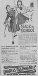 Charles Degenhardt Back To School Advert