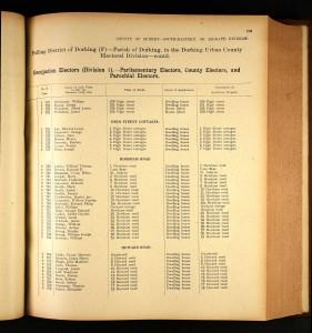 Electoral register 1915 © Ancestry.com